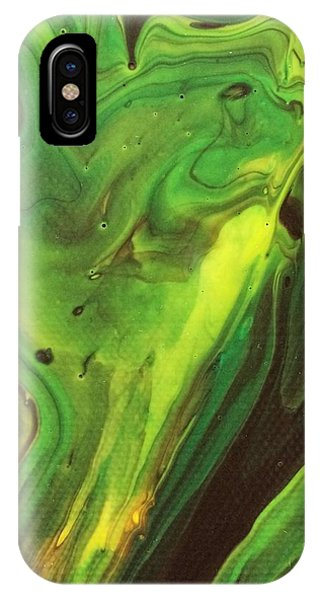 IPhone Case featuring the painting Cowboys And Aliens by Robbie Masso