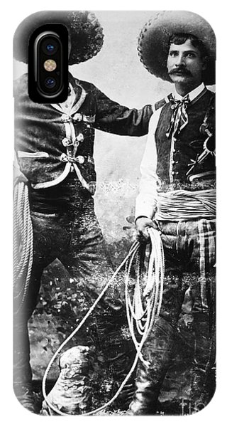 Buffalo Bill iPhone X Case - Cowboys, C1900 by Granger