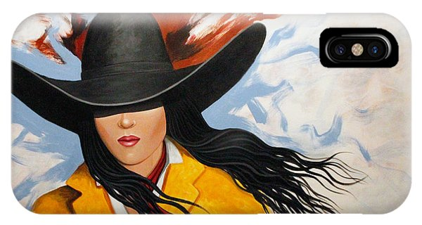 Cowgirl Colors #3 IPhone Case