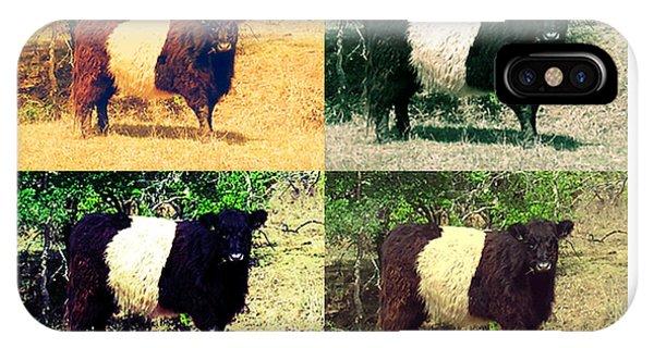 Cows Phone Case by Joanne Elizabeth