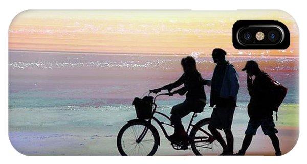 iPhone Case - Cox Bay Bike by Bill Linn