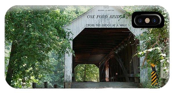 Cox Ford Bridge IPhone Case