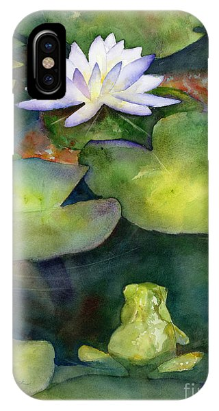 Lily iPhone Case - Coy Koi by Amy Kirkpatrick