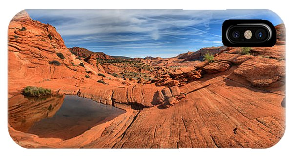 Coyote Buttes Pool Panorama IPhone Case