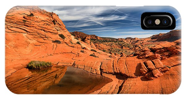 Coyote Buttes Wilderness Reflections IPhone Case