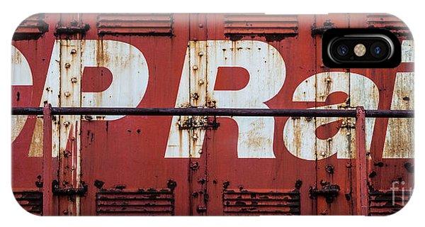 Cp Rail IPhone Case