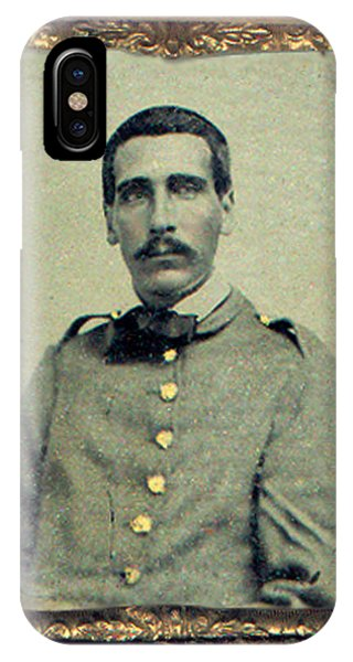 Cprl. Thomas G. West, Csa IPhone Case