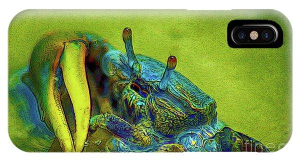 Crab Cakez 2 IPhone Case