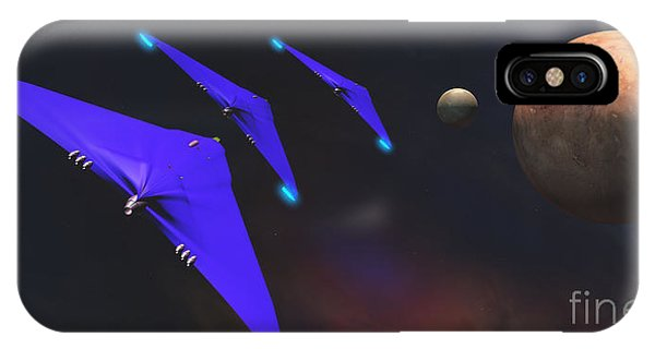 Endless iPhone Case - Crab Nebula by Corey Ford
