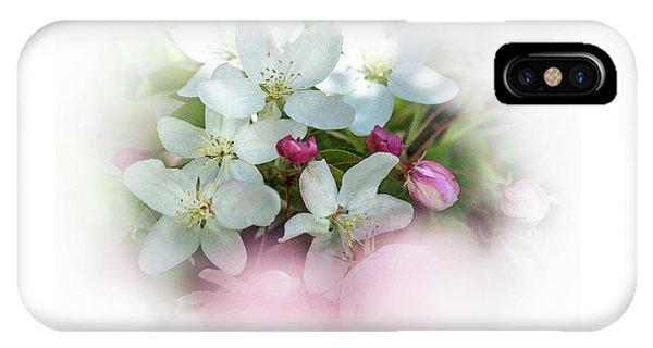 Crabapple Blossoms 3 - IPhone Case