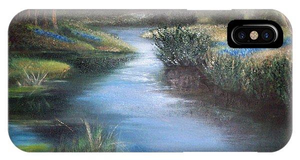 Crabapple Creek Evening IPhone Case