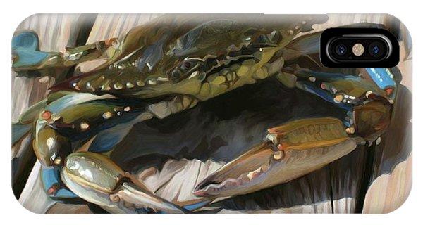 Nautical iPhone Case - Crabbie by Patti Siehien