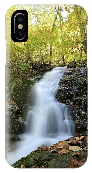 Crabtree Falls In The Fall IPhone Case