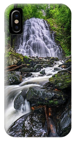 Crabtree Falls North Carolina IPhone Case