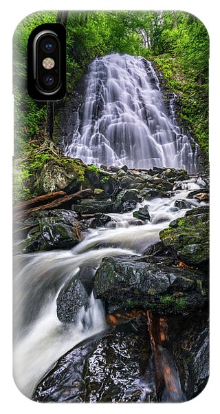 Crabtree Falls North Carolina IPhone Case