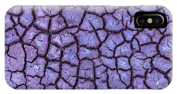 Organic Matter iPhone Case - Cracked Dry Earth by Garry Gay