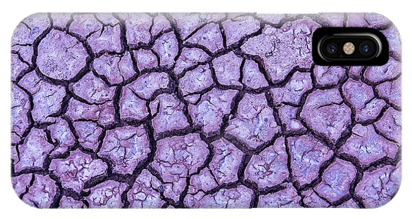 Organic Matter iPhone Case - Cracked Earth by Garry Gay