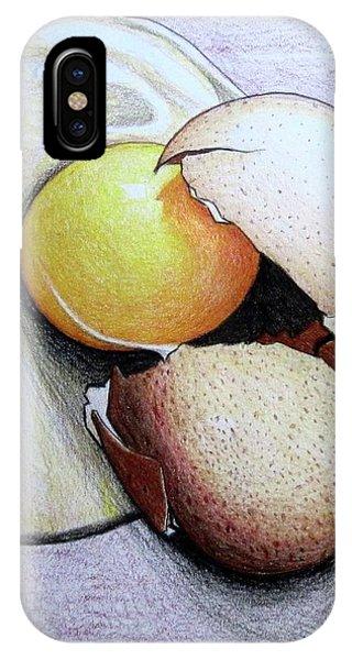 Cracked Egg IPhone Case