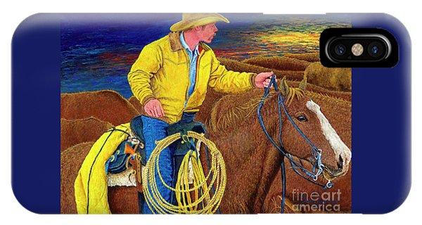 Cracker Cowboy Sunrise IPhone Case