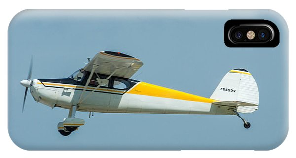 IPhone Case featuring the photograph Cracker Fly-in by Michael Sussman