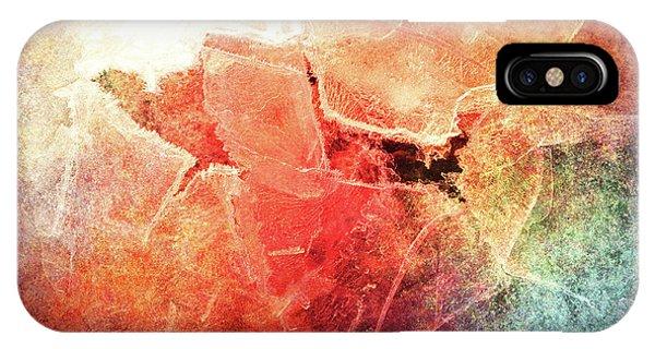 Cracks Of Colors IPhone Case