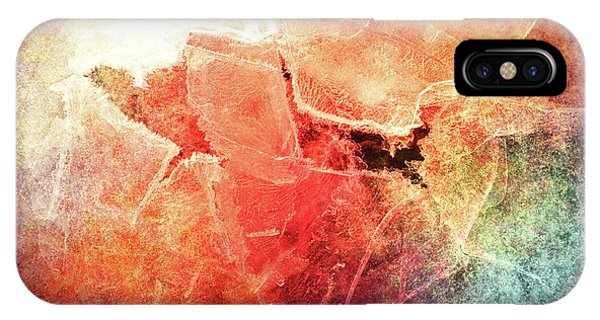 Cracks Of Colors IPhone Case