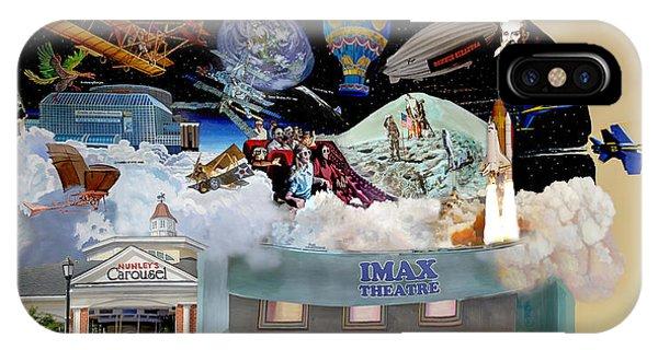 Cradle Of Aviation Museum Imax Theatre IPhone Case
