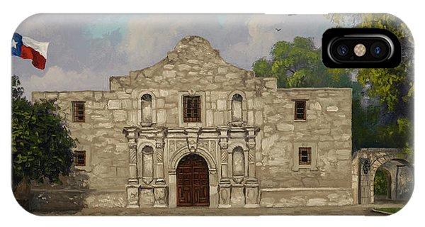 Cradle Of Texas Liberty IPhone Case