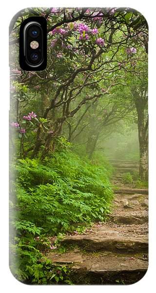 IPhone Case featuring the photograph Craggy Steps by Joye Ardyn Durham