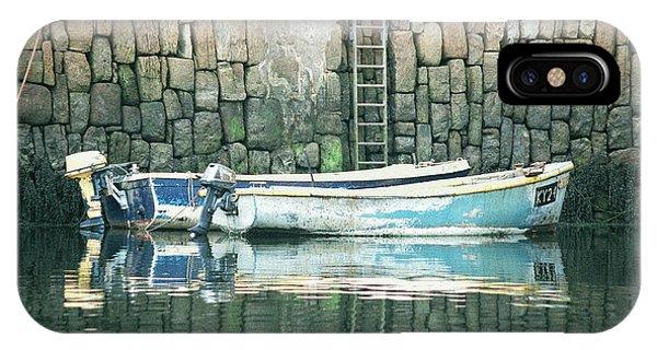 Crail Harbour IPhone Case