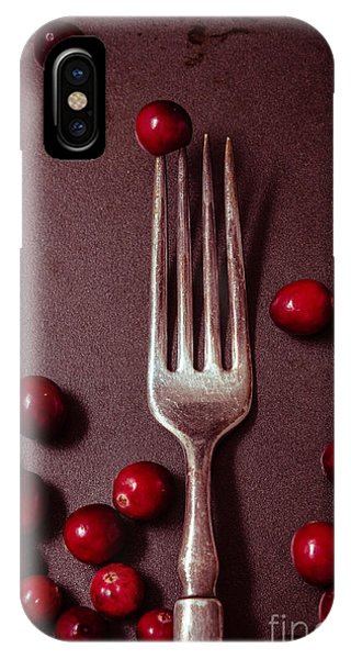 Cranberries And Fork IPhone Case