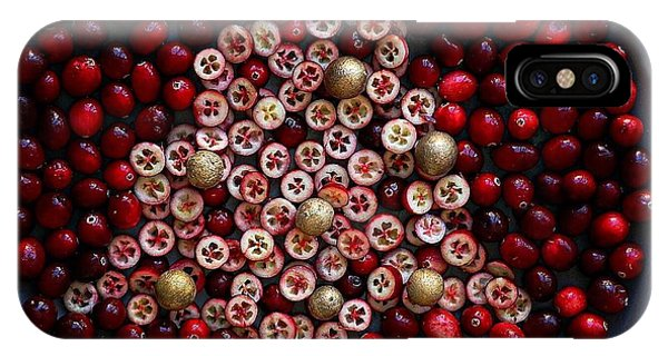 Cranberry Christmas Tree IPhone Case