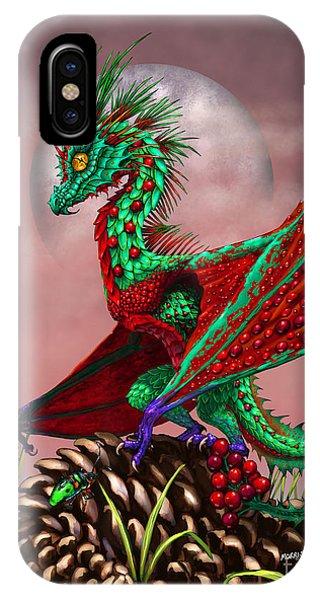 Cranberry Dragon IPhone Case