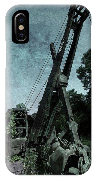 Construction iPhone Case - Crane by Jerry LoFaro
