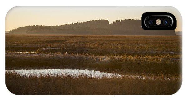 Crane Reservation Sunrise Crane Beach Ipswich Ma IPhone Case