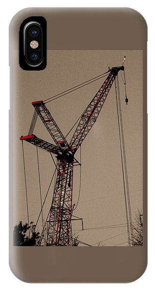 Crane's Up IPhone Case