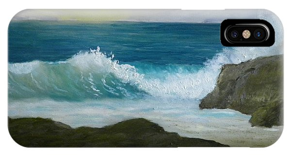 Crashing Wave 3 IPhone Case