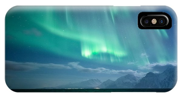 Moonlight iPhone Case - Crashing Waves by Tor-Ivar Naess
