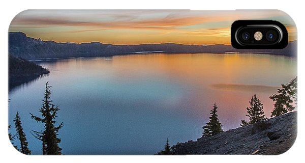 Crater Lake Morning No. 1 IPhone Case
