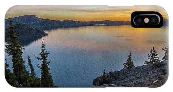 Crater Lake Morning No. 2 IPhone Case