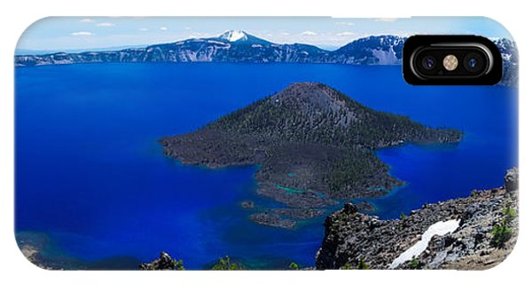 Crater Lake National Park Panoramic IPhone Case
