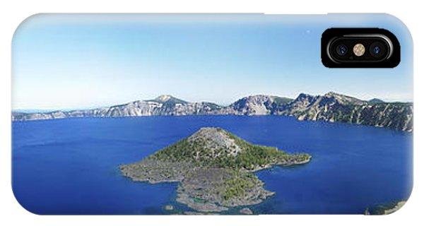 Crater Lake Panoramic IPhone Case