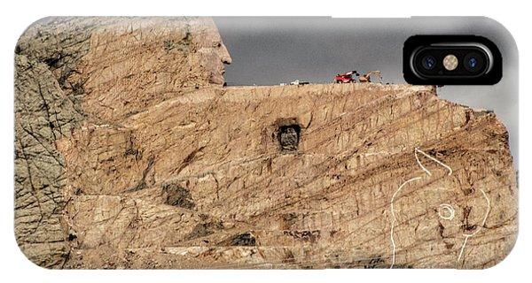 ...entrance Crazy Horse Memorial South Dakota.... IPhone Case