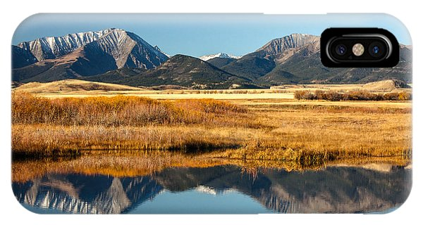 Rocky Mountain iPhone Case - Crazy Mountain Reflections by Todd Klassy