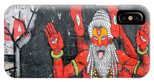 Crazy Yogi, Rishikesh IPhone Case