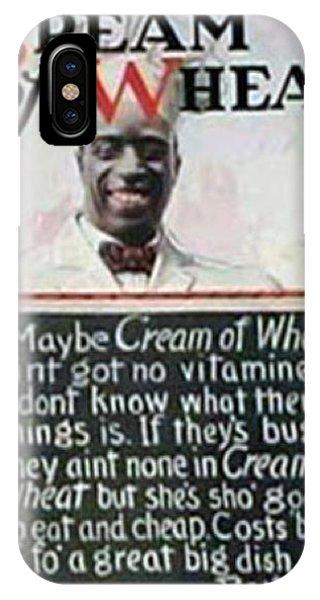 iPhone Case - Cream Of Wheat Rastus by ReInVintaged
