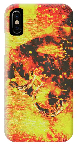 Industry iPhone Case - Creative Industrial Flames by Jorgo Photography - Wall Art Gallery