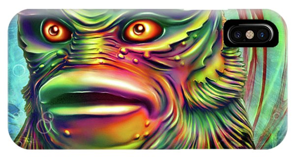Creature from the black lagoon iphone cases fine art america for Naomi jansen