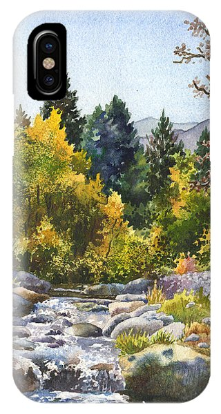 Rocky Mountain iPhone Case - Creek At Caribou Ranch by Anne Gifford