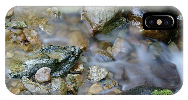 Creek On Mt Tamalpais IPhone Case
